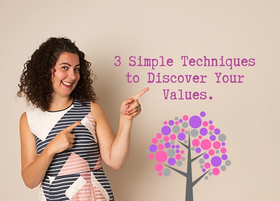 3 Simple Techniques to Discover Your Values.