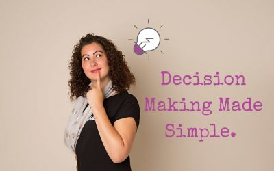 Decision Making Made Simple.