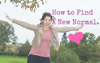 How To Find A New Normal.
