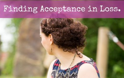 Finding Acceptance in Loss.