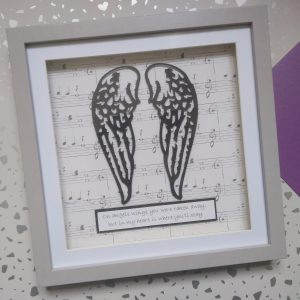 angel wings bereavement loss love commemorate