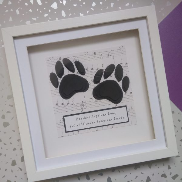 pet loss remembrance frame commemorate