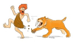 sabre tooth tiger stress