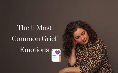 The 6 Most Common Grief Emotions