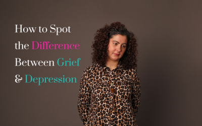 How to Spot the Difference Between Grief & Depression