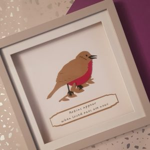 rememberance robin loved one frame commemorative home decor in memory of